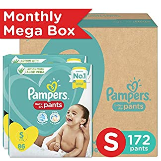 Latest Pampers Diaper Pants Monthly Box Pack