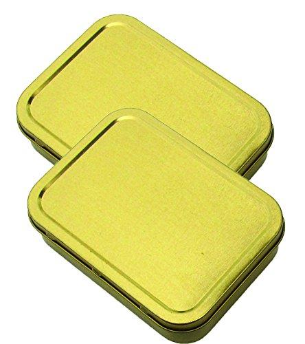 Best Glide ASE Large Survival Kit Tin Gold 2 Pack