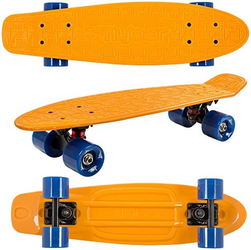 Flybar 22 Skateboard for Kids, Beginners – Plastic Cruiser Non-Slip Deck Multiple Colors for Boys and Girls
