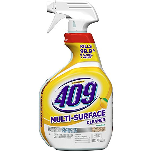 (Formula 409 Multi-Surface Cleaner, Spray Bottle, Lemon, 22 Ounces)