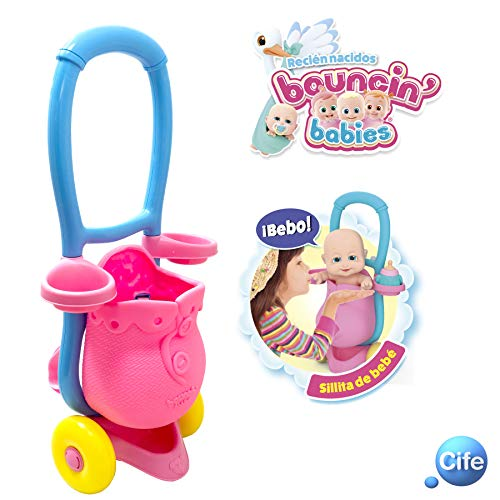 Amazon.com: Boucin Babies – Bouncin Babies Newborns – Nos Vamos De Paseo, Multicoloured (Cife 41646): Toys & Games