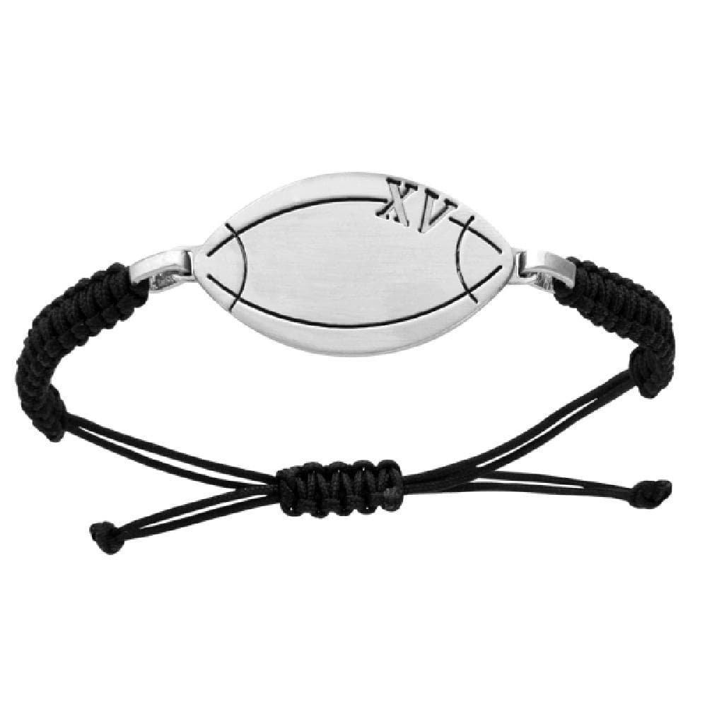 So Chic Joyas© pulsera cordón deslizante Longitud ajustable negro ...