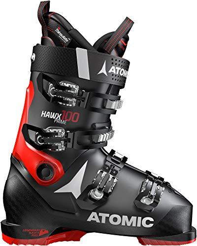 Atomic HAWX Prime 100 Ski Boots Red Mens Sz 12/12.5 (30/30.5)