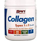 Best Collagen Types    Powders - SAN Nutrition, Collagen, Types 1 & 3 Powder Review