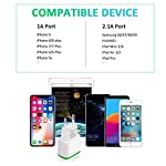 PICILOO-Caricatore-USB-da-Muro-3-Pack-21A-5V-Caricabatterie-Alimentatore-Presa-USB-2-Porte-Spina-Compatibile-con-Phone-11-XS-Max-XR-X-8-7-6-Samsung-Huawei-Android-Xiaomi