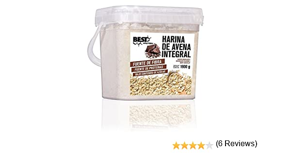Best Protein Harina de Avena Chocolate - 1900 gr: Amazon.es: Salud y cuidado personal