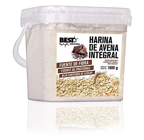 Best Protein Harina de Avena Chocolate - 1900 gr: Amazon.es: Salud ...