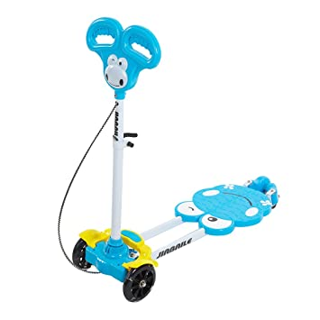 Amazon.com: Color tree - Patinete para niños con 4 ruedas ...