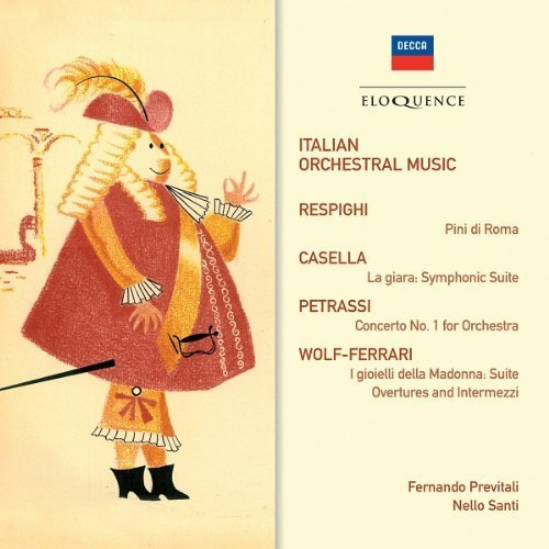 Italian Orchestral Music by Eloquence Australia by