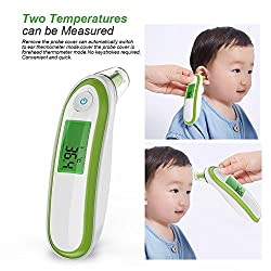 Yonker YK-IRT1 Infrared Ear Thermometer for Kids Adult Family Health Monitor Clinical Fever Monitor