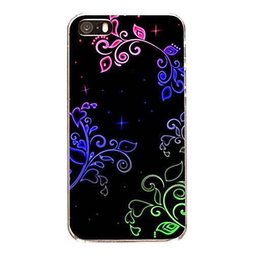 "Disagu Design Case Coque pour Apple iPhone 5s Housse etui coque pochette ""Star Neon"""
