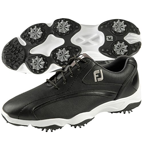 FootJoy 2016 Men's Superlites Sport Speed Saddle Golf Shoes, Previous Season Styles (11 D(M) US, Black)