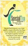 Special Tea Company 20 Starfruit/Vanilla/Spice Herbal Tea Bags