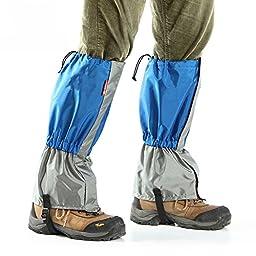 Unisex Waterproof Snowproof Outdoor Climbing Hiking Hunting Snow High Legging Gaiters