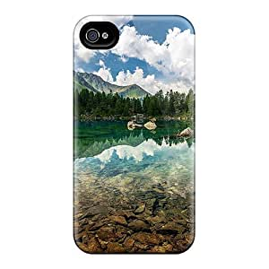 Fashion NhSJbJE7792oyaBB Case Cover For Iphone 4/4s(my Favorite Fishing Pond)