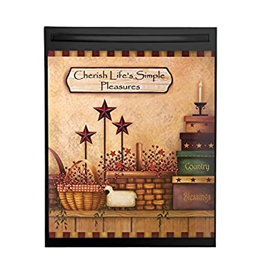 Primitive Country Dishwasher Magnet Cover