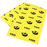 College Covers Iowa Hawkeyes Pillowcase Only-Body Pillow, 20'' x 60'', Yellow