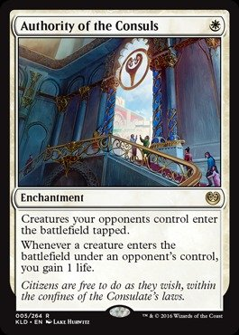 Magic: the Gathering - Authority of the Consuls (005/264) - Kaladesh