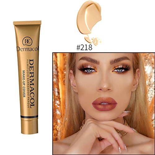 #218 Dermacol base primer corrector concealer cream makeup base tatoo consealer face foundation contour palette 30g 100% Original