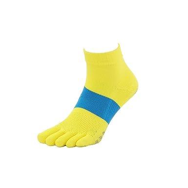 Tabio - Calcetines de Deporte - para Hombre Amarillo Amarillo: Amazon.es: Ropa y accesorios