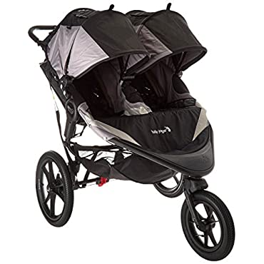 Baby Jogger 2016 Summit X3 Double Jogging Stroller Black/Gray