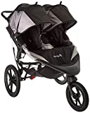 Cheap Baby Jogger 2016 Summit X3 Double Jogging Stroller – Black/Gray