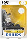 Philips 9005 Standard Halogen Replacement Headlight Bulb, 1 Pack