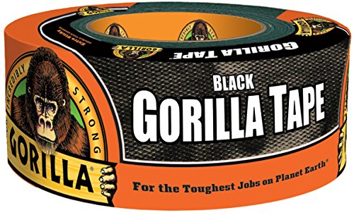"Price comparison product image Gorilla 6001203  Duct Tape, 1.88"" x 12 yd., Black"