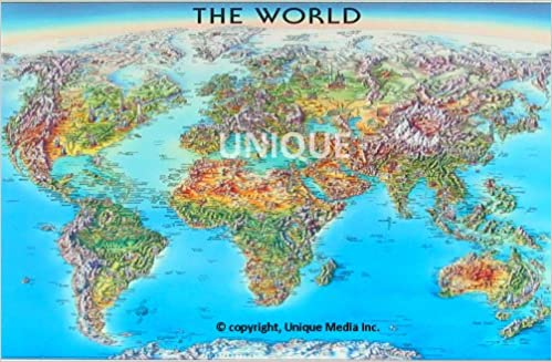 Title the world laminated map amazon unique media title the world laminated map amazon unique media 9780921338611 books gumiabroncs