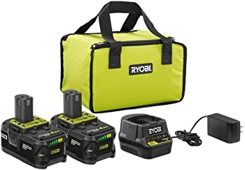 2-Pack Ryobi Battery Kit w/Charger and Bag + Cordless Reciprocating Saw