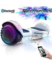 "CITYSPORTS Balance Board 6.5"", Self Balancing Scooter avec Roue LED et Bluetooth Intégré, Moteur 2 * 350W"