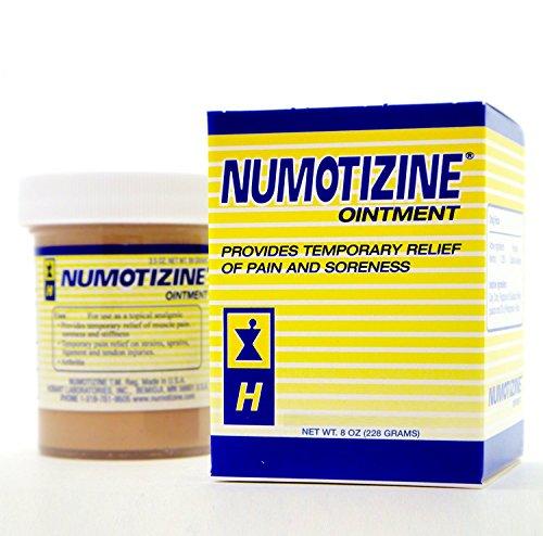 Numotizine Cataplasm Ointment - 8 Oz