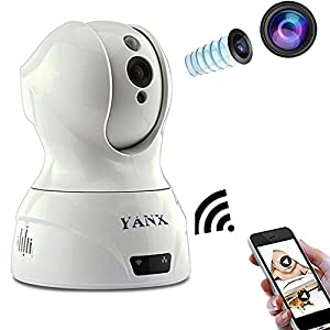 YANX Baby Monitor Wireless Camera HD IP Home Security Cam With Night Vision