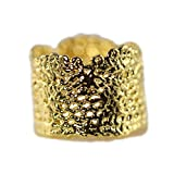 Marilyn ring - American vintage lace dipped in 24k gold Made in New York City