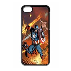 CHENGUOHONG Phone CaseMarvel Caption American For Iphone 4 4S case cover -PATTERN-11