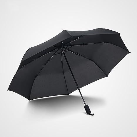 BKB Ock Umbrellas Paraguas Negro Plegable Hembra 30 Paraguas ...