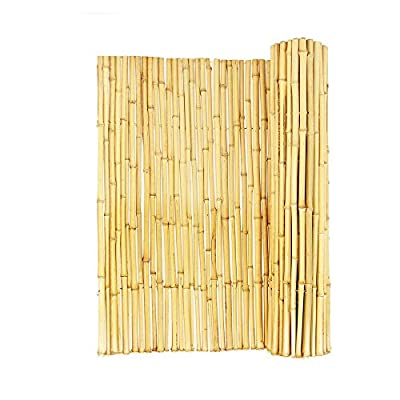 Forever Bamboo 3/4 in. Natural Rolled Bamboo Fence