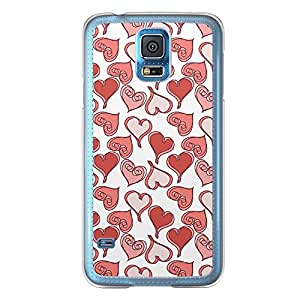 Loud Universe Samsung Galaxy S5 Love Valentine Printing Files A Valentine 77 Printed Transparent Edge Case - White/Red