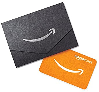 Amazon.co.uk Gift Card - In a Mini Envelope - £10 (Black & Silver ...