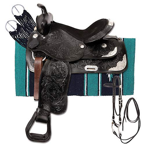 King Series Silver Show King II Saddle Package 15i