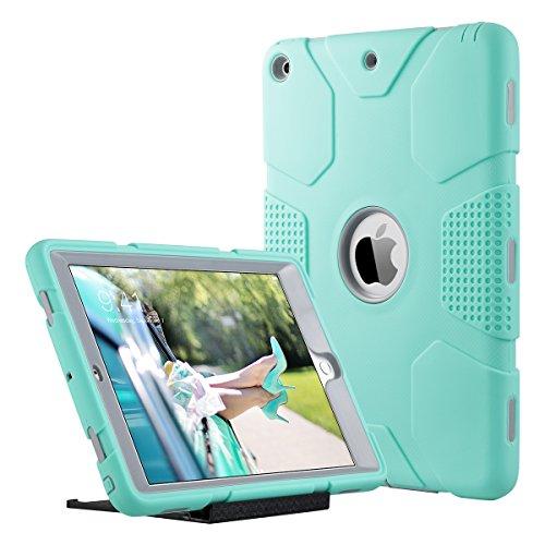 ULAK iPad 2017 9.7 inch Case, Heavy Duty Shockproof Kidproof