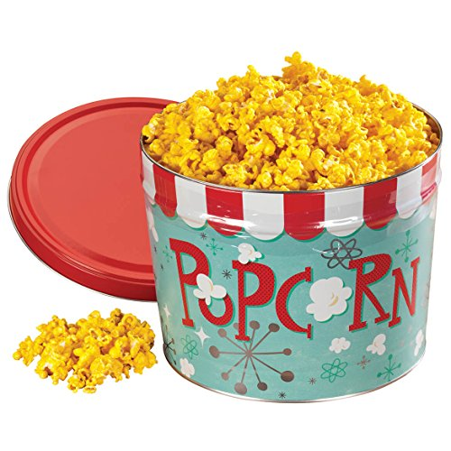 Buttery Cheddar Cheese Popcorn Tin - Cheezzzy Cheddar Popcorn Tin 16.5 oz.