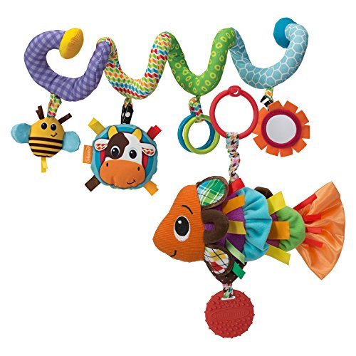Infantino Spiral Activity Toy with Linking Fish