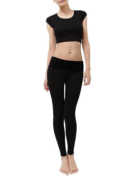 Amazon.com: Ne Personas Womens Peso ligero solid Stretch ...