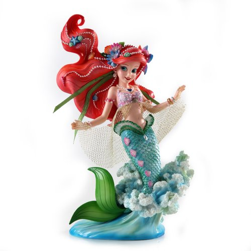 Enesco Disney Showcase Ariel Couture de Force Princess Stone Resin Figurine