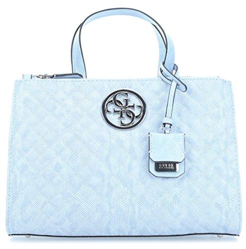 Guess light blue blue Handtasche Lux G x qq7PR