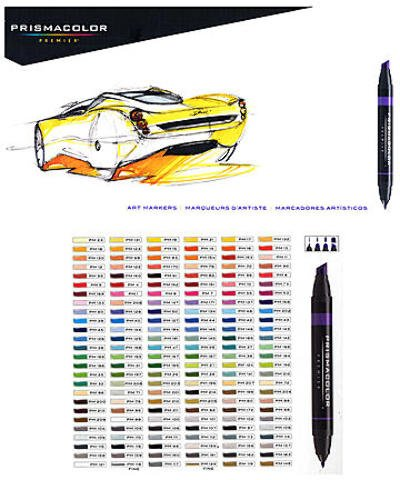 Prismacolor Marker Sets (Set of 156) 1 pcs sku# 1832986MA