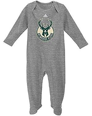Baby adidas Milwaukee Bucks Big Fan Bodysuit