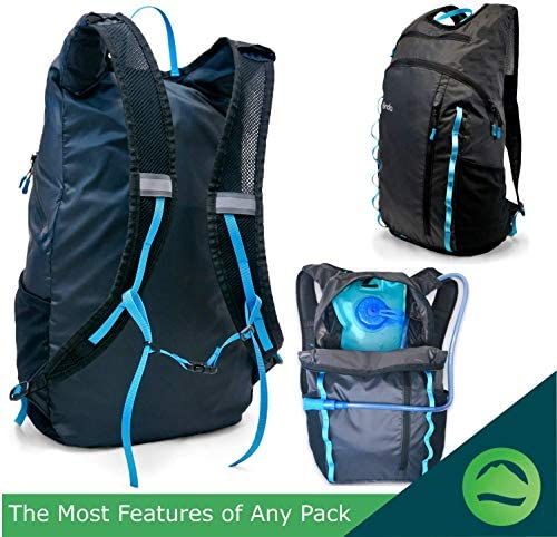 Onda 20L Packable Travel Backpack Personal Carry On Item Small Foldable Bag
