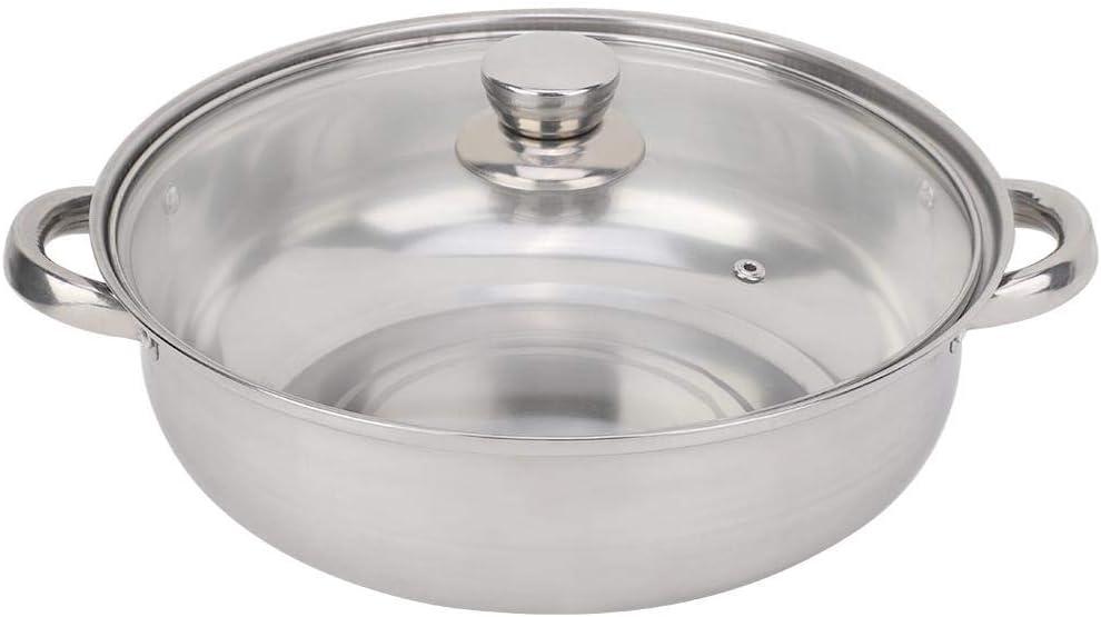 Vapor de 2 capas utensilios de cocina de acero inoxidable de 27 cm//11 pulg Vapor de 2 capas Olla Olla de vapor de caldera doble Olla de vapor